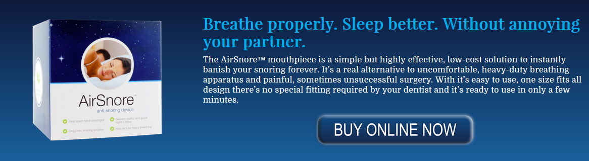 Stop Snoring Mouthpieces